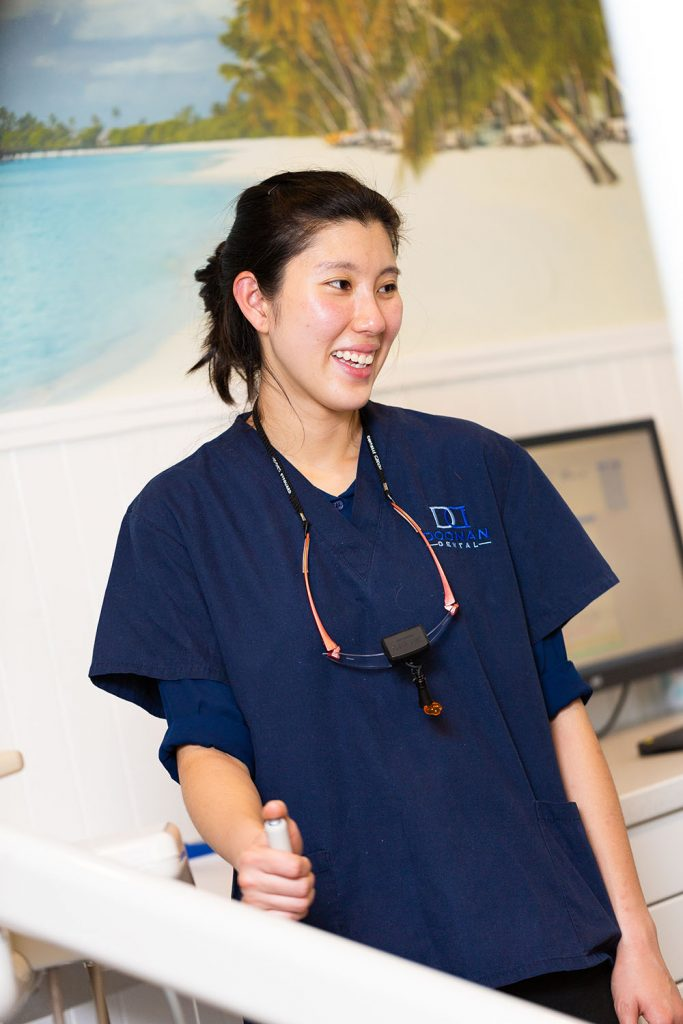 dental implants - Smiling staff