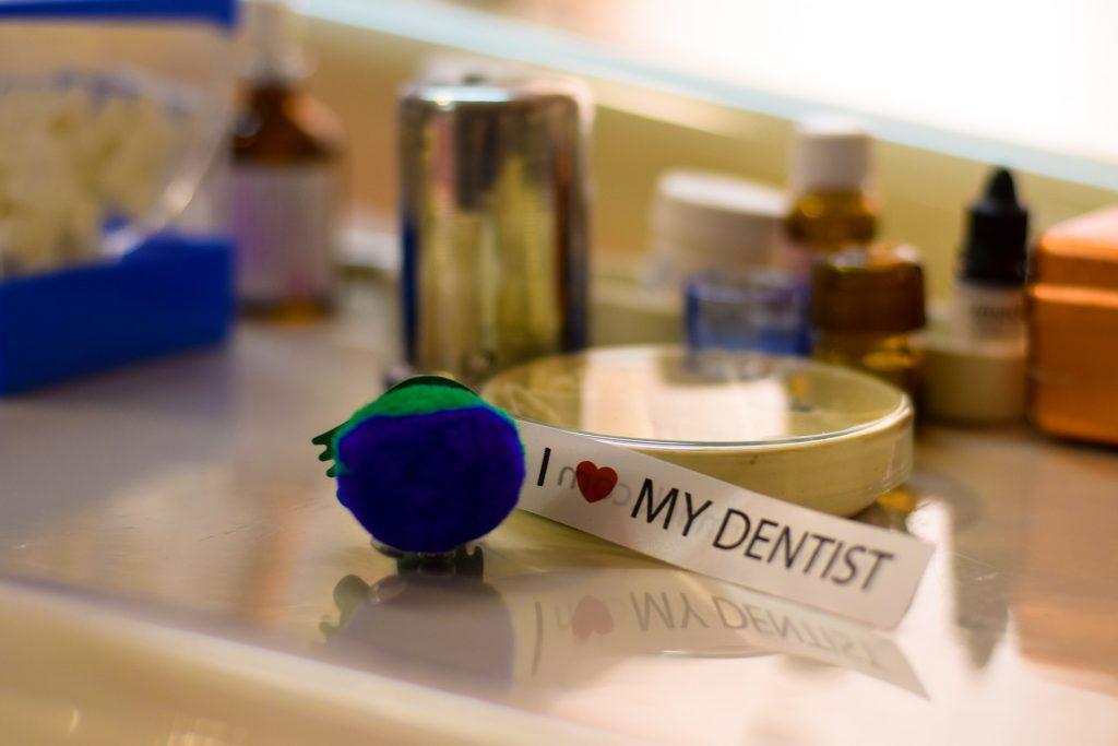 dental implants Glenview - dentist toy