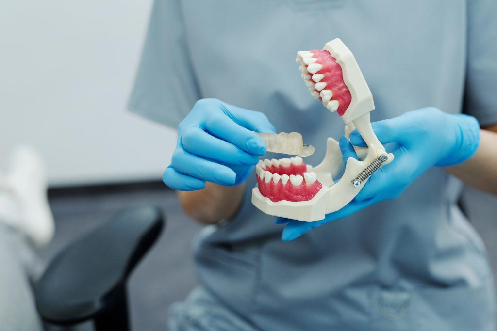 Dentist Maleny - dental assistant holding dental equipment